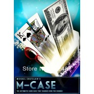 M-Case blue (DVD and Gimmick) by Mickael Chatelain