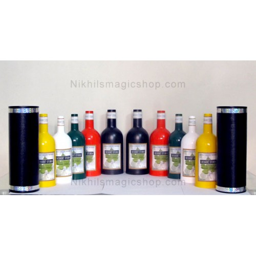 Moving Increasing and Coloring Bottles