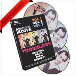 Treasures Vol 1,2,3 by Alexander DeCova ( VIDEO DOWNLOAD )