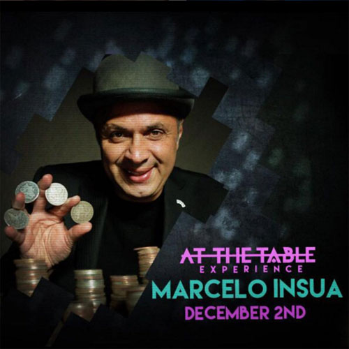At the Table Live Lecture Marcelo Insua December 2nd 2015 (VIDEO DOWNLOAD)
