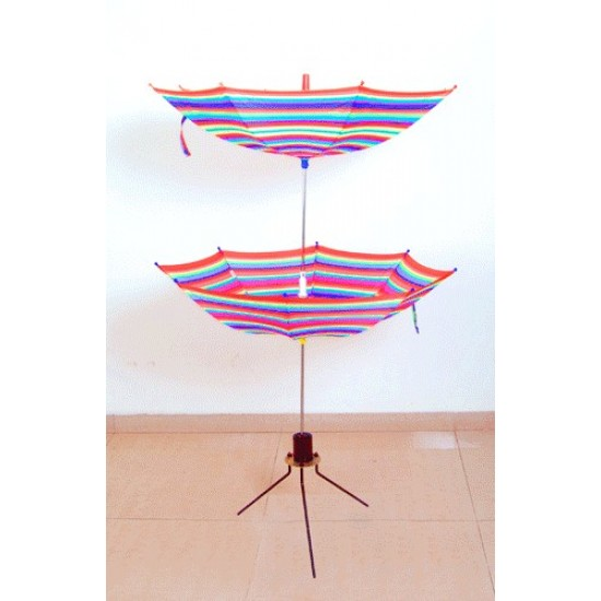 Cane To Double Umbrella Stand