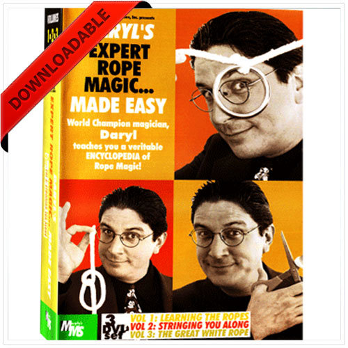 Expert Rope Magic Made Easy by Daryl -1 ( VIDEO DOWNLAOD )