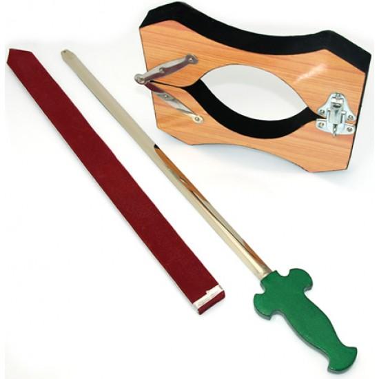 Sword Through Neck
