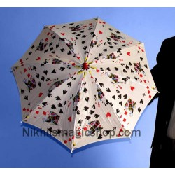 Poker Umbrella 14 inch
