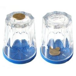 Coin Through Glass