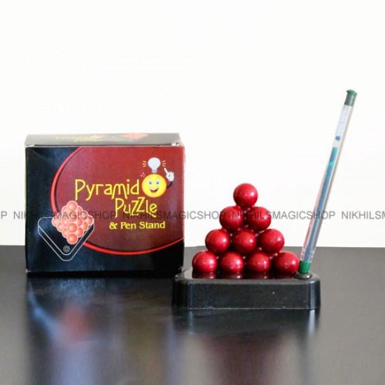 Ball Pyramid Puzzle