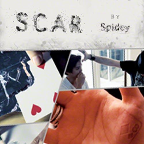 SCAR (DVD & Gimmicks) by Spidey