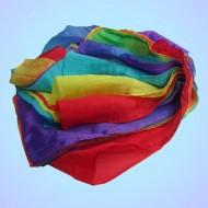 Silk Streamer ( Rainbow ) 18 feet