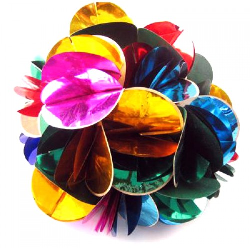 Spring Flower Small (Mylar) - Multicolor