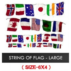 String of Flags - Large 6 x 4