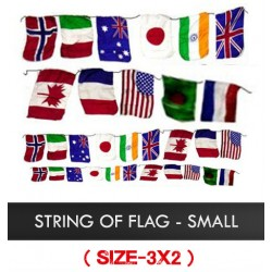 String of Flags - Small 3 x 2