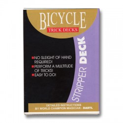 Stripper Deck Bicycle (Red)