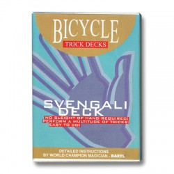 Svengali Deck Bicycle (Red)