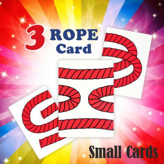 3 Rope Card Trick (Small cards)