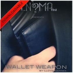Wallet Weapon by Lloyd Barnes ( video download )